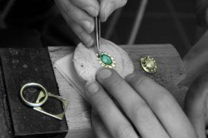 Fabrication bijouterie or et diamant -Atelier du Diamant