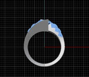 Fabrication sur mesure - Rendu3D - Bijoux or et diamants