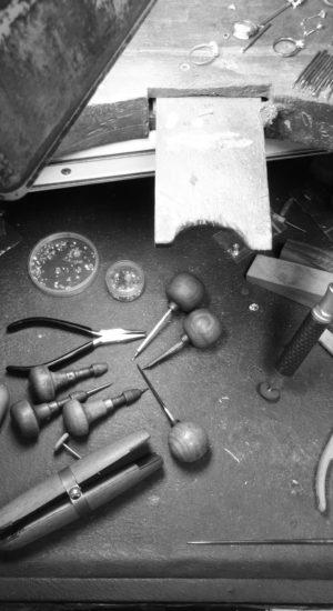 Etabli fabrication - Atelier du Diamant - Création sur-mesure