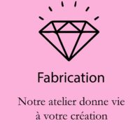 Etape de fabrication de bijoux or et diamants