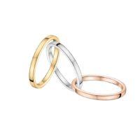 Métaux précieux - Or blanc, jaune et rose 18 carats