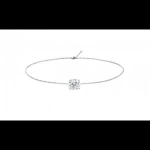 Bracelet diamant - Or blanc 18 carats