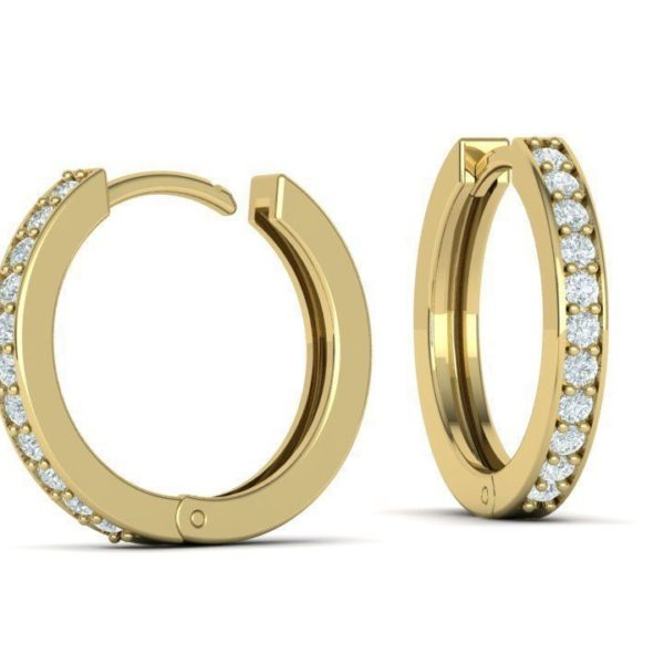 boucles-d-oreilles-creoles-diamant-or-jaune-serti-grain