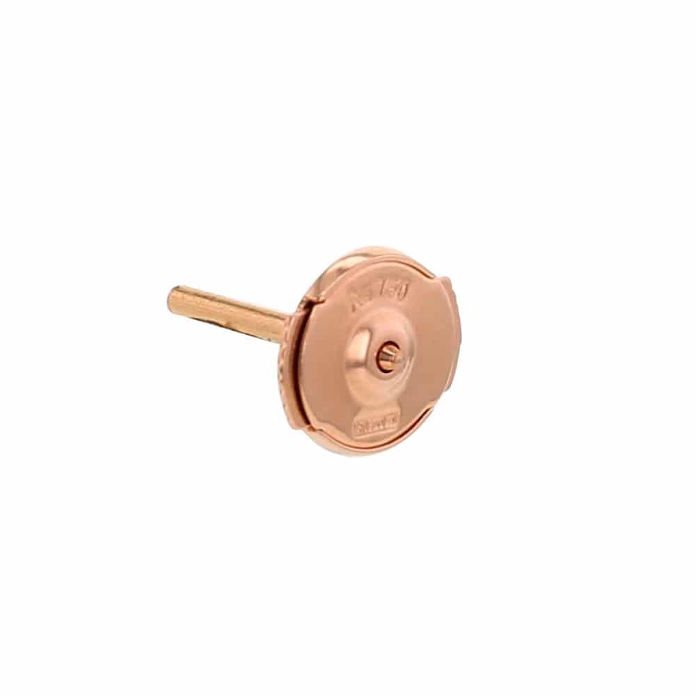 fermoir alpa fermoir boucle d 39 oreille en or rose atelier du diamant. Black Bedroom Furniture Sets. Home Design Ideas