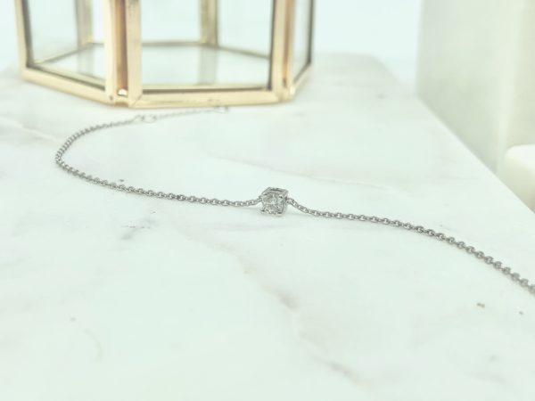 bracelet-solitaire-diamant-4-griffes-or-blanc