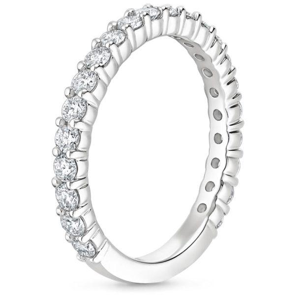 Alliance-diamant-2-griffes-or-blanc-18-carats-trois-quarts-tour