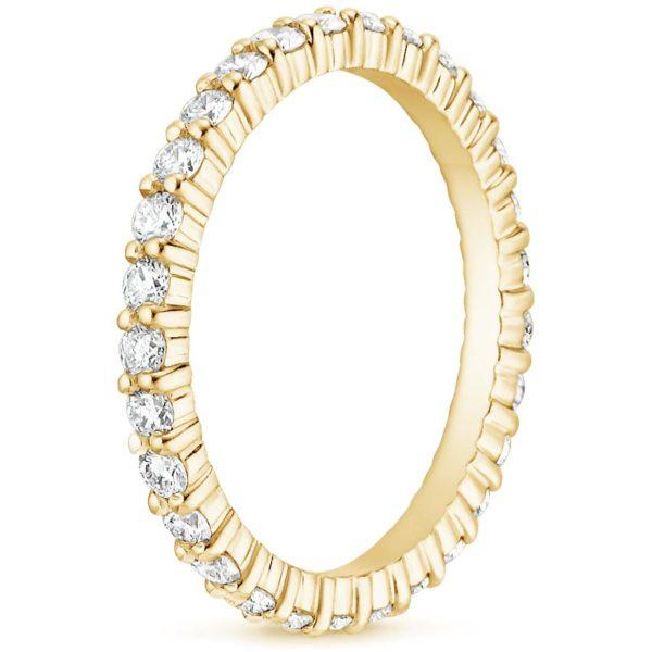 Alliance-diamant-2-griffes-or-jaune-18-carats-tour-complet
