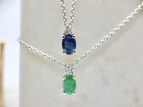 pendentif-diamant-duo-emeraude-saphir-ovale