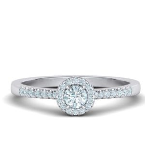 Bague-diamant-entourage-015-carat-or-blanc