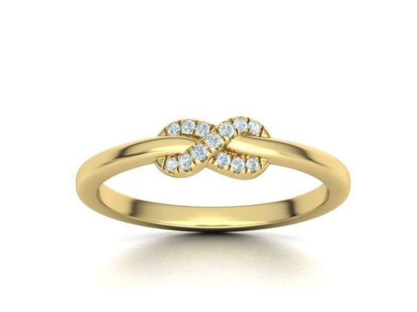 bague-infini-diamant-or-jaune-2