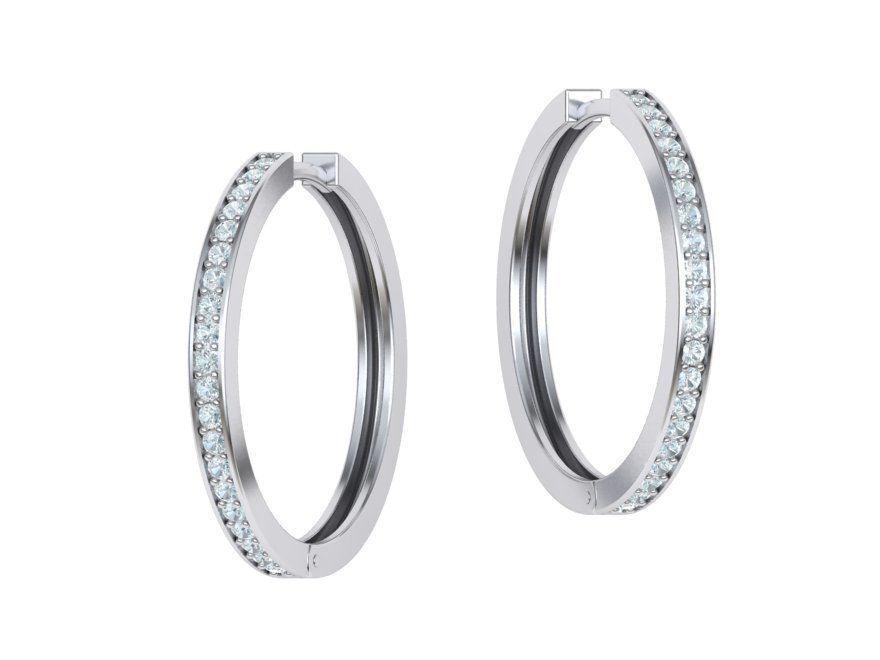 boucles-d-oreilles-creoles-diamant-or-blanc-serti-grain-moyen-modele-2