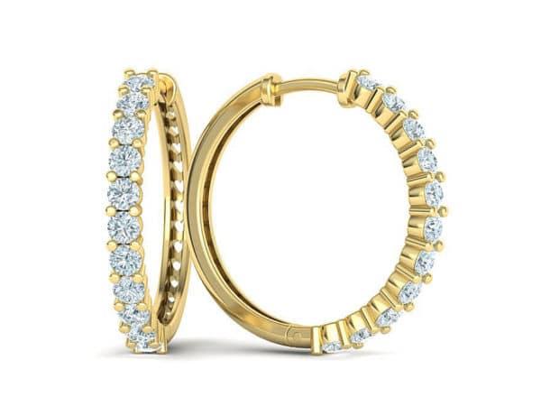 boucles-d-oreilles-creoles-diamant-or-jaune