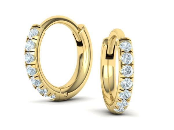 boucles-d-oreilles-creoles-diamant-or-jaune-mini