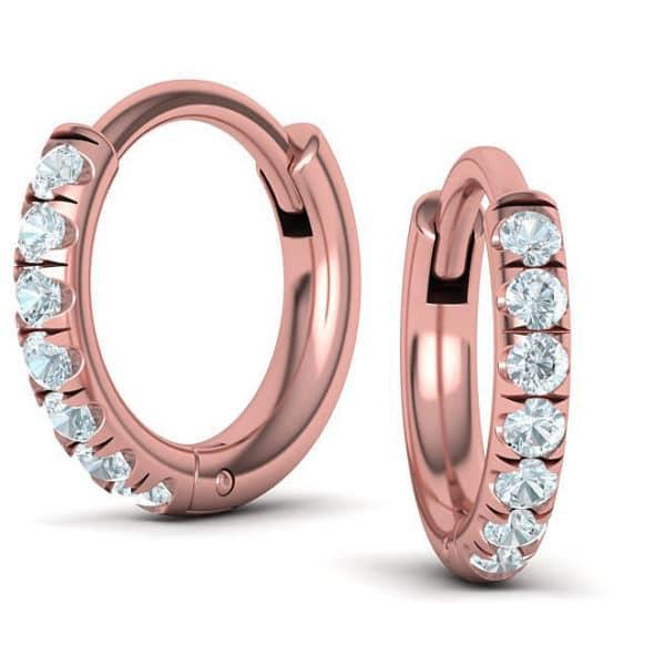 boucles-d-oreilles-creoles-diamant-or-rose-mini
